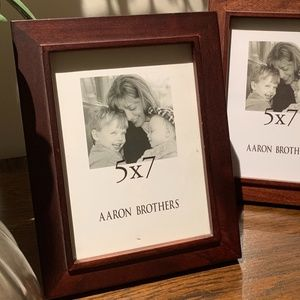 "Aaron Brothers 5""x7"" Wood Frame"